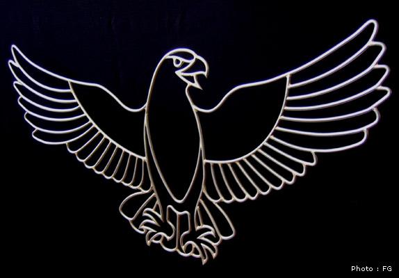 le fer et l'inox au service de l'art Aigle