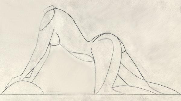 Femme Dessin Corps dessins de sculpteurs
